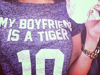 shirt t-shirt love boyfriend tiger