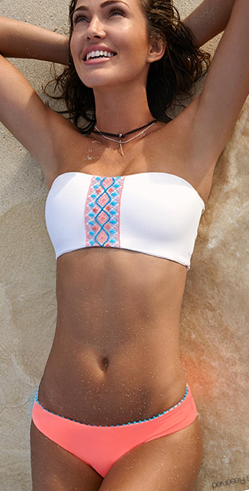 l space bohemian beach shell savanna bikini south beach swimsuits