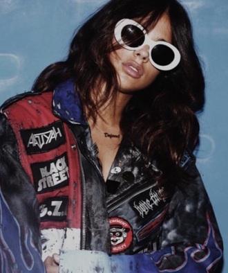 sunglasses white white sunglasses retro sunglasses accessories accessory sunnies glasses
