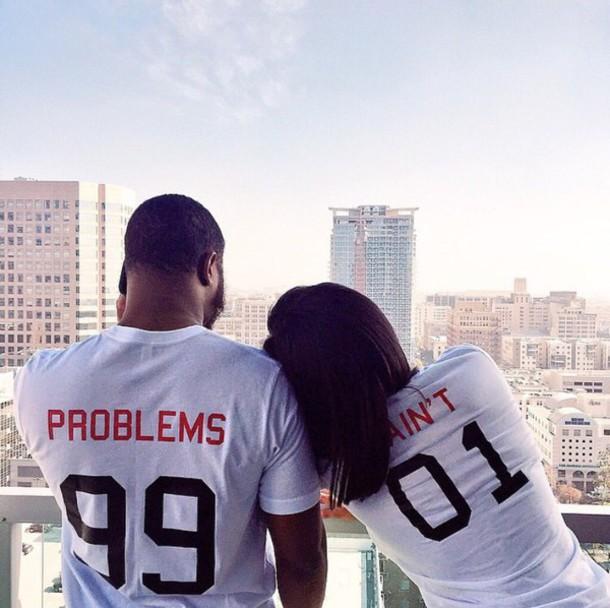 shirt girlfriend boyfriend t-shirt style