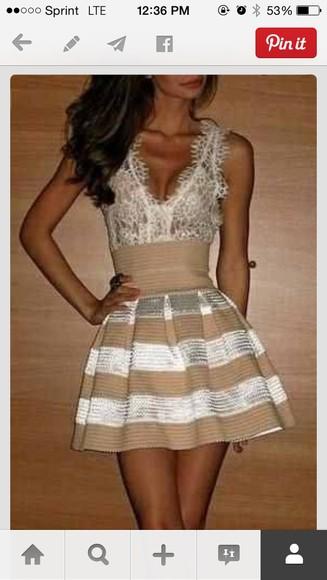 metallic lace dress nude dress