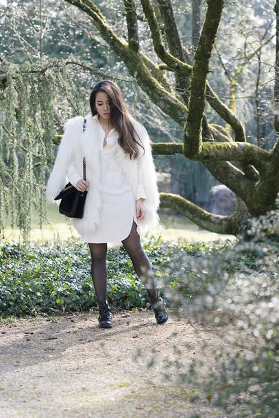 blaastyle blogger dress coat bag jewels