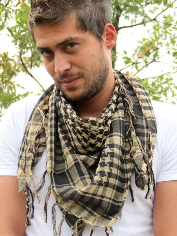 scarf mens scarf scarves flannel scarf menswear mens printed scarf