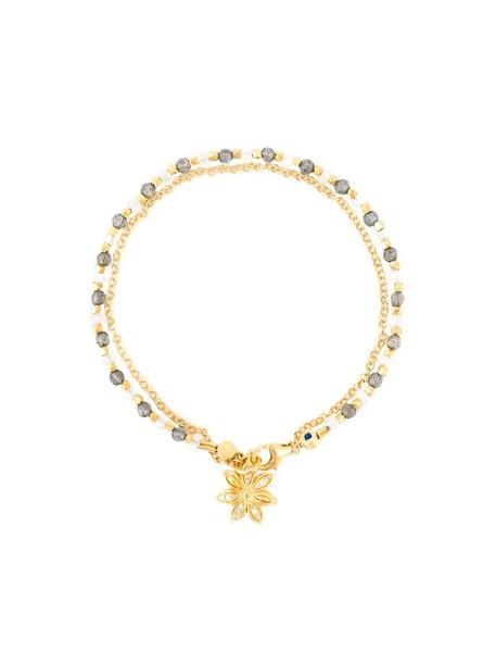 women moon gold yellow grey jewels