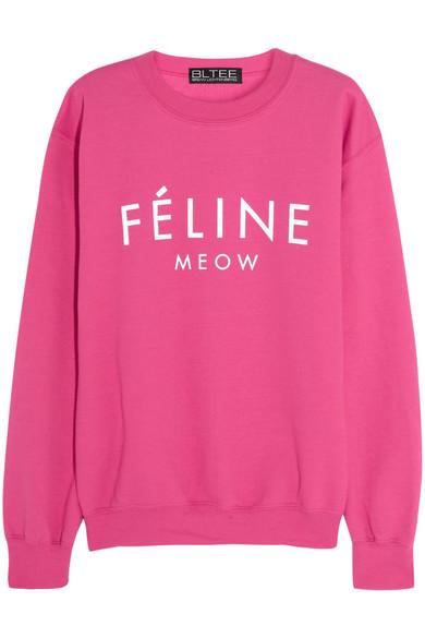 Brian Lichtenberg|Féline cotton-blend jersey sweatshirt |NET-A-PORTER.COM