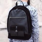 bag,black,backpack,leather backpack,school bag,classy,fashion,designer backpack,menswear,mens accessories,lookbook,hipster wishlist
