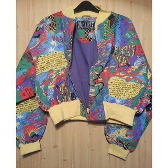 jacket mt tony 90s style 90s jacket hq color/pattern