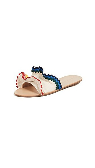 ruffle rainbow shoes