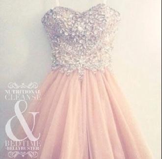dress dress pink sparkles nice pretty style
