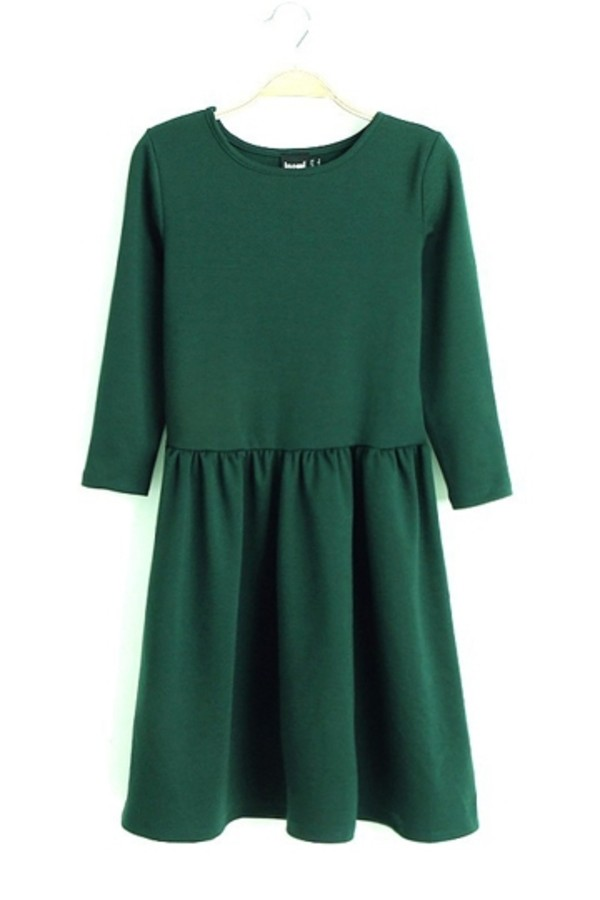 dress green dress persunmall persunmall dress winter dress clothes