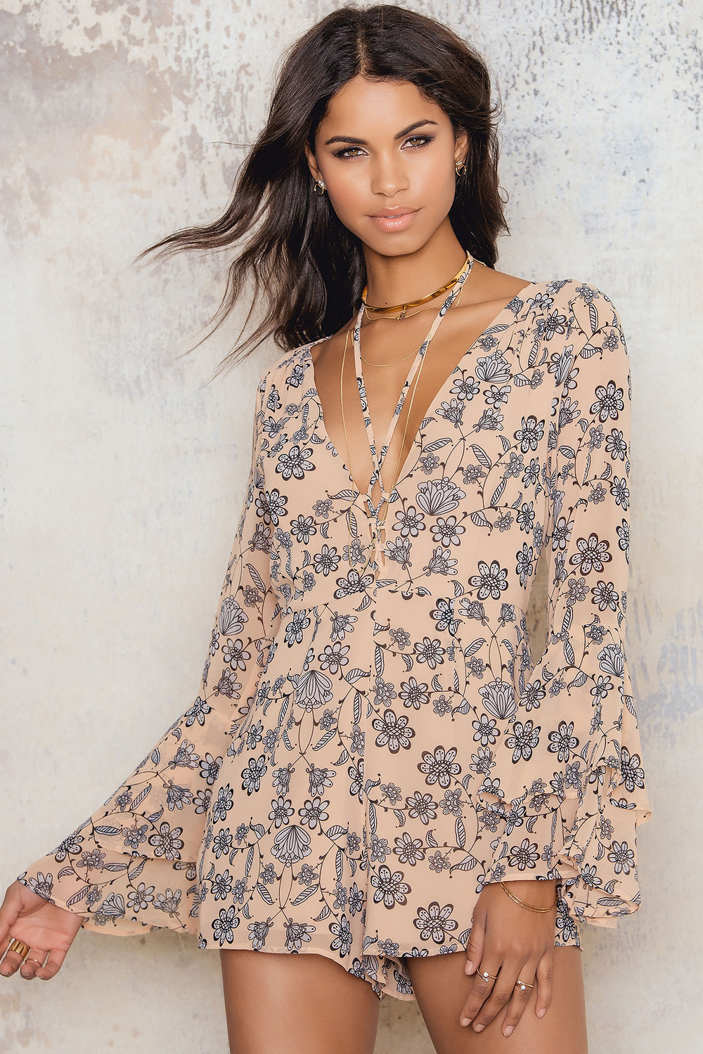 For Love & Lemons Pia Romper