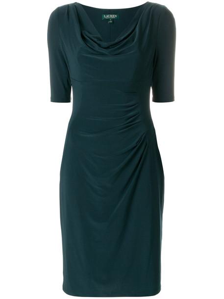 Ralph Lauren dress women spandex green