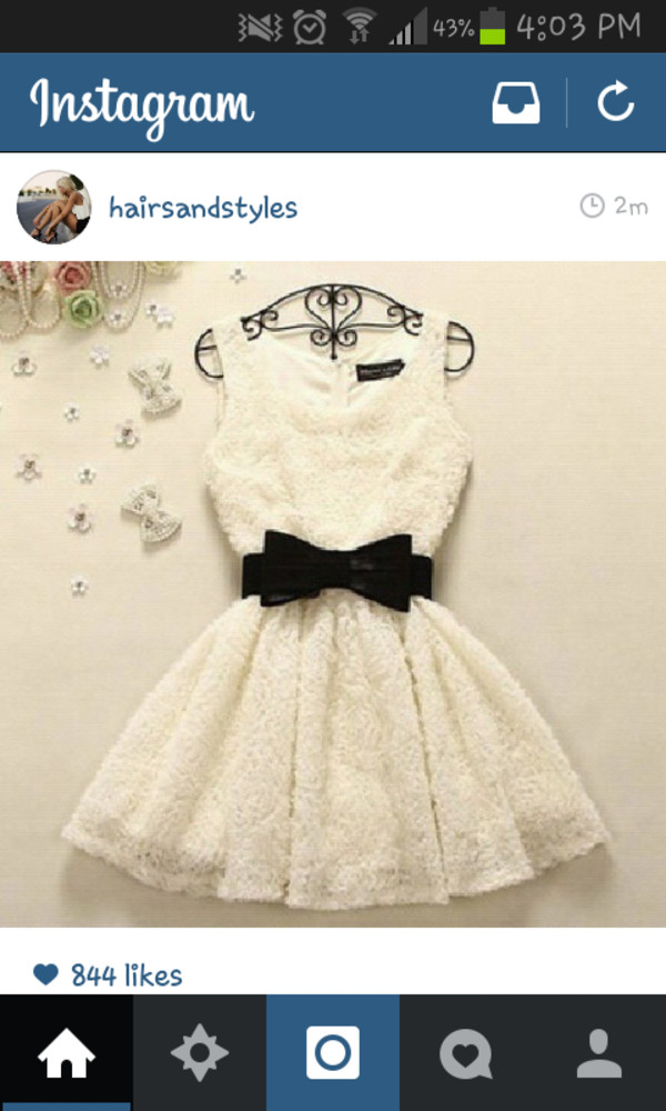 cute dress girly kawaii bows white dress