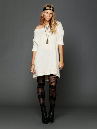 white dress laine wool