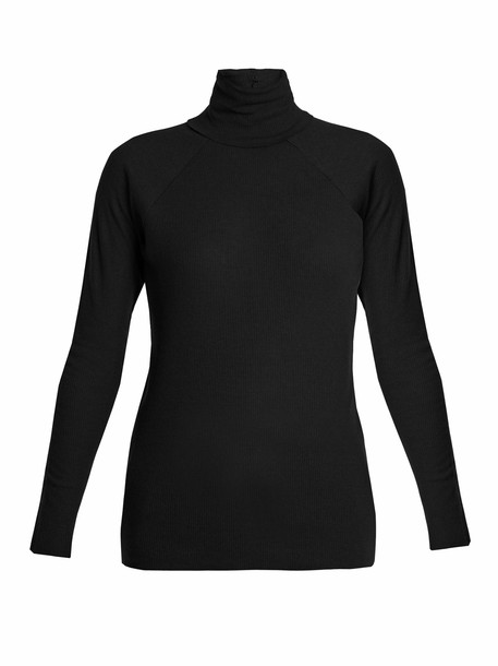 Haider Ackermann sweater knit black