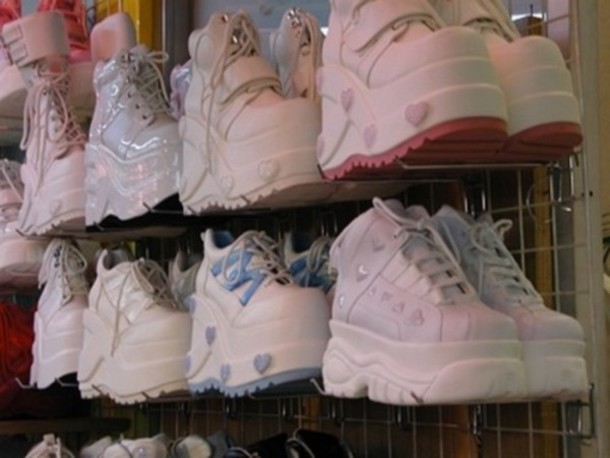 shoes, sneakers, platform shoes, spice