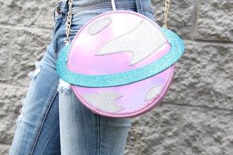 bag crossbody bag pastel