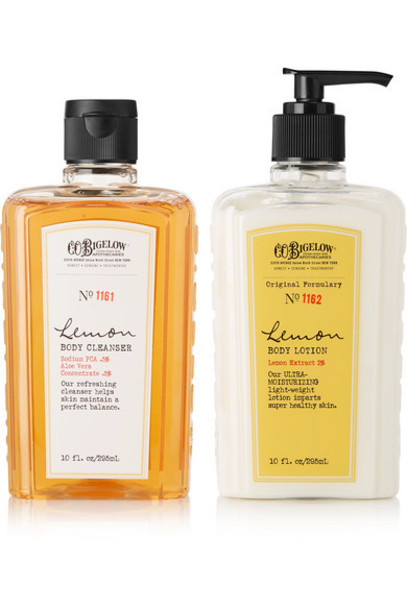C.O. Bigelow - Lemon Body Lotion And Cleanser Set - Colorless