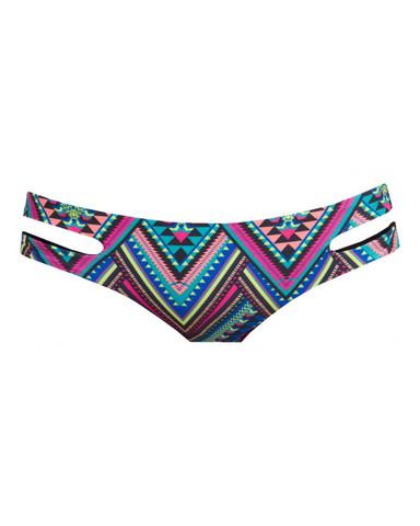 L*Space Antigua Black Reversible Estella Classic Bikini Bottom