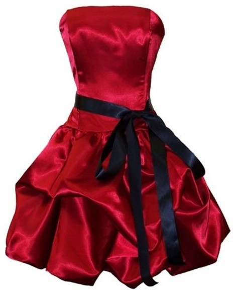 dress cute beautiful red dress prom dress feminine goth gothic elegant