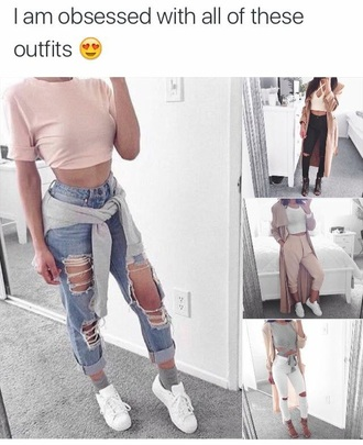 jeans fashion vibe clothes