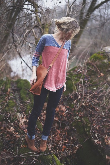 shirt casual fashion top cute comfy fall rustic