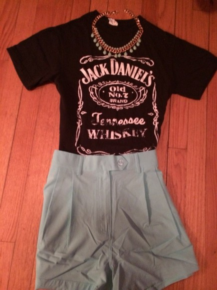 blue shirt jewels jack daniel's