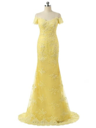 dress prom prom dress fashion vogue cool cute cute dress yellow yellow dress love pretty tulle dress lace lace dress strapless strapless dress sweetheart dress style stylish amazing maxi maxi dress long long dress mermaid mermaid prom dress sexy bridesmaid long bridesmaid dress pastel pastel yellow sexy dress