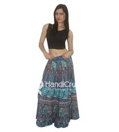 skirt,rapron,indian rapron,women rapron,handmade rapron,indian handmade rapron,elegant rapron,modish rapron,summer rapron,printed rapron,mandala printed rapron