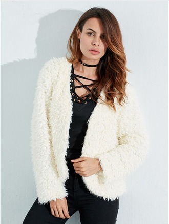 coat wool fashion trendy winter outfits winter coat white black streetstyle lace up fall outfits style casual lookbook
