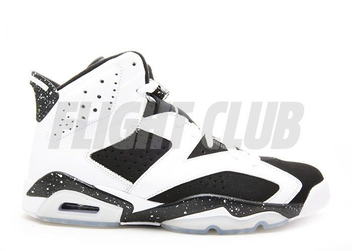 "air jordan 6 retro ""oreo"" - white/black - Air Jordan 6 - Air Jordans  