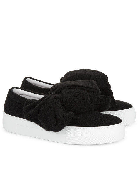 Joshua Sanders bow sneakers black