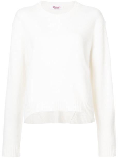 Organic by John Patrick sweater women classic white