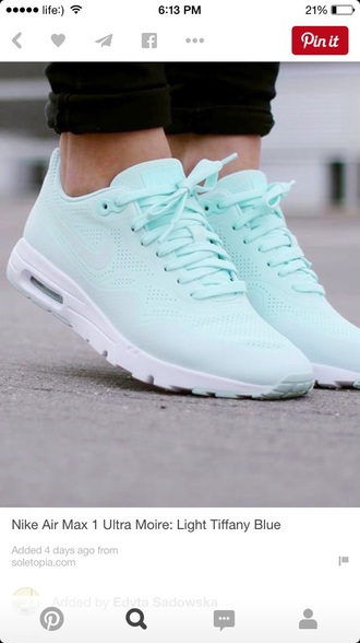 shoes air max ultra moire cute green shoes pretty love nike nike sneakers mint sneakers nike shoes nike air summer bright sneakers jumpsuit mint green shoes nike running shoes trainers tiffany blue shoes light blue nike air force low top sneakers blue sneakers tiffany blue light turquoise teal nike sneakers mints nike blue