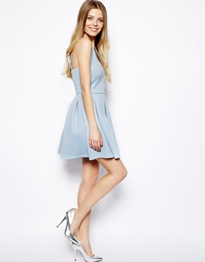 ASOS | ASOS Bow Back Skater Dress at ASOS