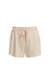 shorts,pyjama shorts,light pink,light,silk,pink