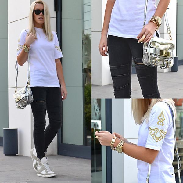t-shirt clothes jeans shoes