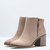 Bershka United Kingdom - BSK zipper detail heeled ankle boots