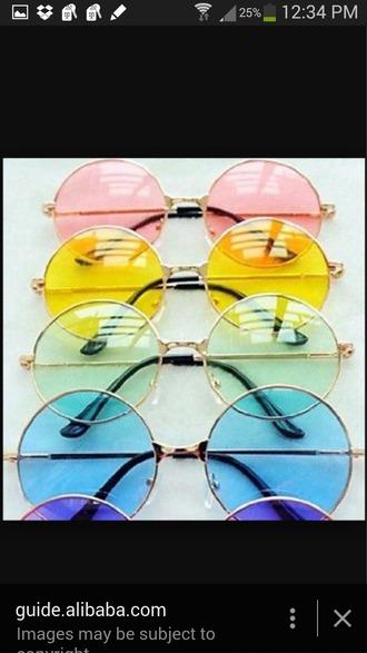 sunglasses round sunglasses cute indie dope