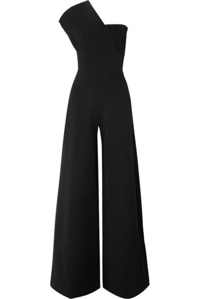 Stella McCartney jumpsuit black knit