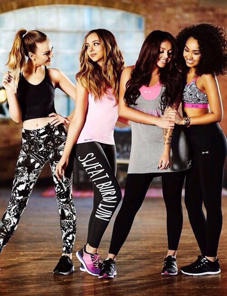 Leggings Little Mix Perrie Edwards Jade Thirlwall Jesy Nelson