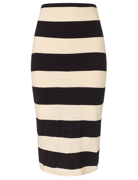 James Perse skirt pencil skirt black
