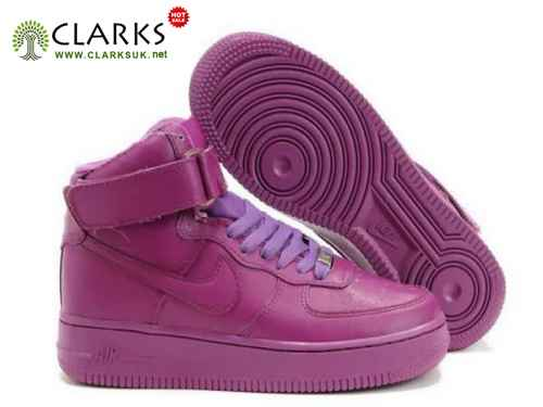 Nike Air Force One Shoes Womens High -Top 03 All Purple [1I5O1S9628] - $96.60 : women shoes|men shoes!, footwear