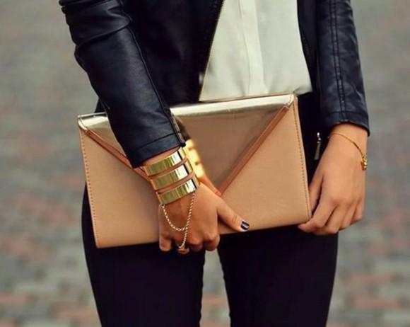 jewels bag clutch envelope rectangle big jacket