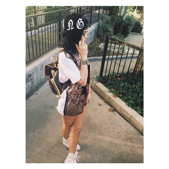 t-shirt shoes bag cap kylie jenner