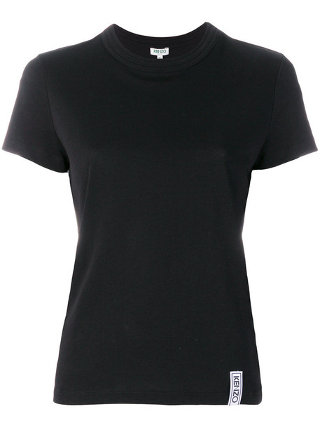 Kenzo t-shirt shirt t-shirt women cotton black top