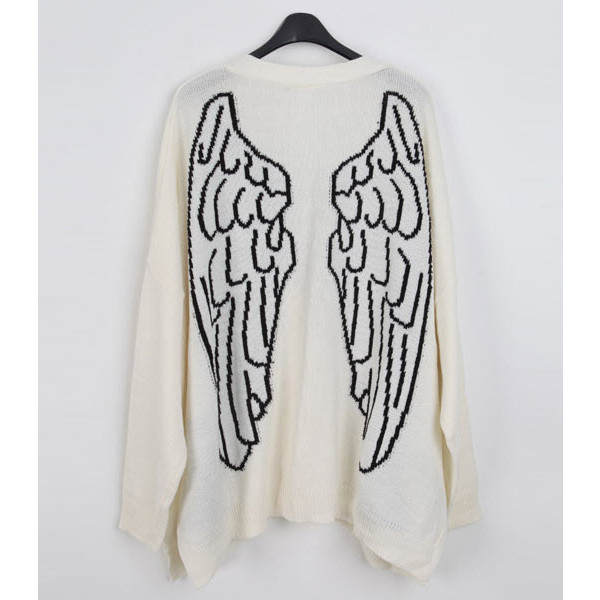 Cardigan - Wings - Polyvore