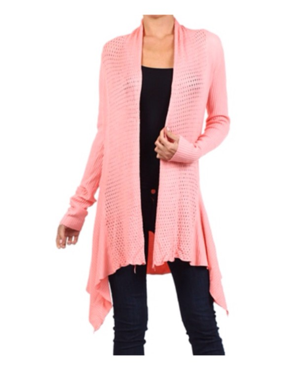 cardigan long open