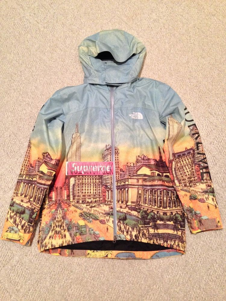 Supreme x North Face Summit Series Jacket Large Day Version RARE City Scene | eBay