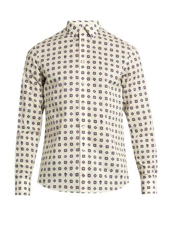 shirt cotton print top